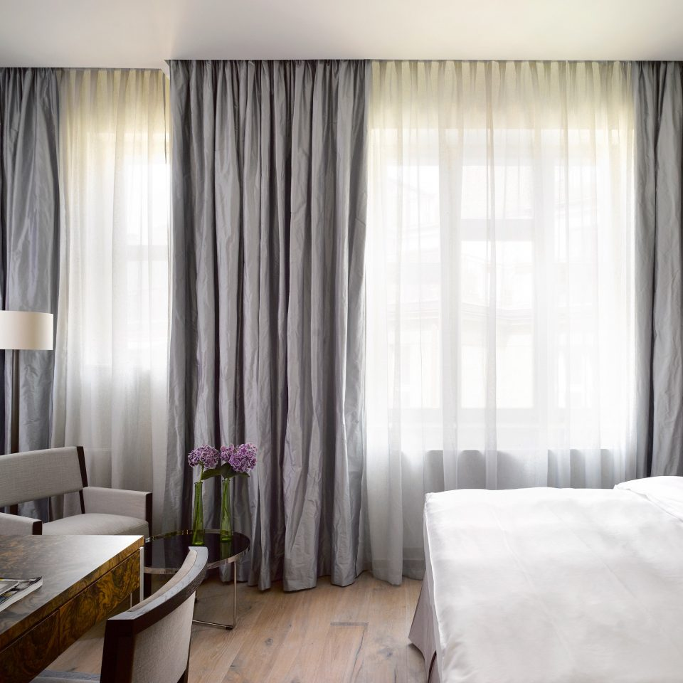 Bedroom Hip Modern Resort curtain textile window treatment Suite material