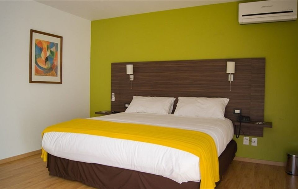 Bedroom Hip Modern Romantic Suite yellow property cottage bed frame night