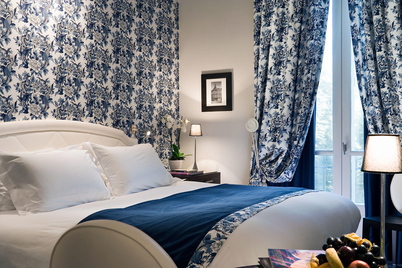 Bedroom Hip Modern sofa curtain blue living room bed sheet textile pillow wallpaper Suite