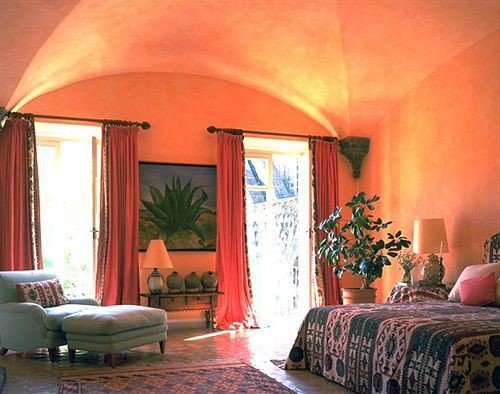 Bedroom Historic Luxury Rustic Suite sofa property living room hacienda cottage Villa bright