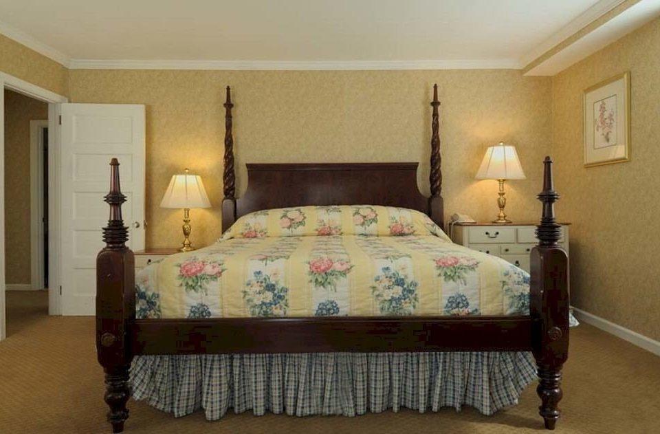 Bedroom Historic Rustic Suite property bed frame hardwood cottage bed sheet living room lamp