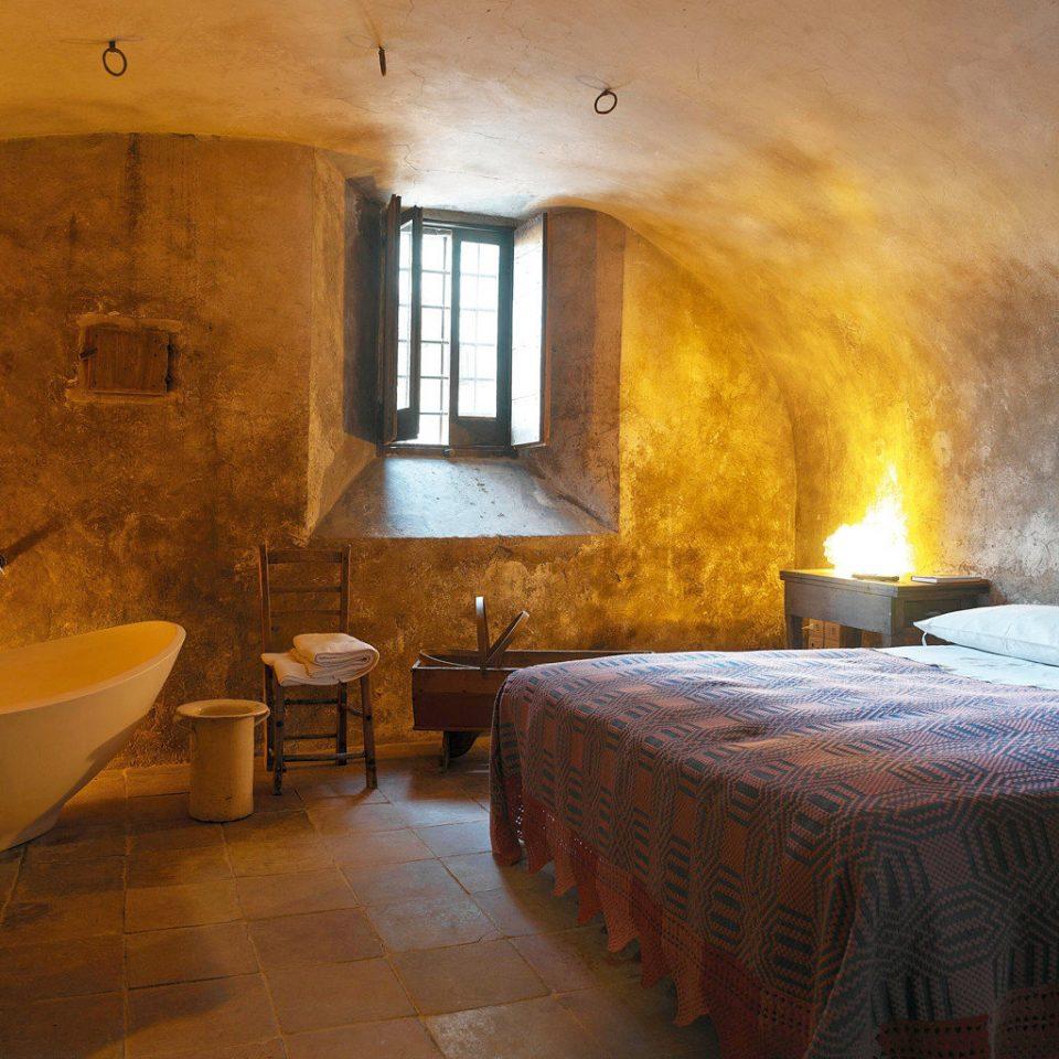 Bedroom Honeymoon Romance Romantic Rustic house cottage stone