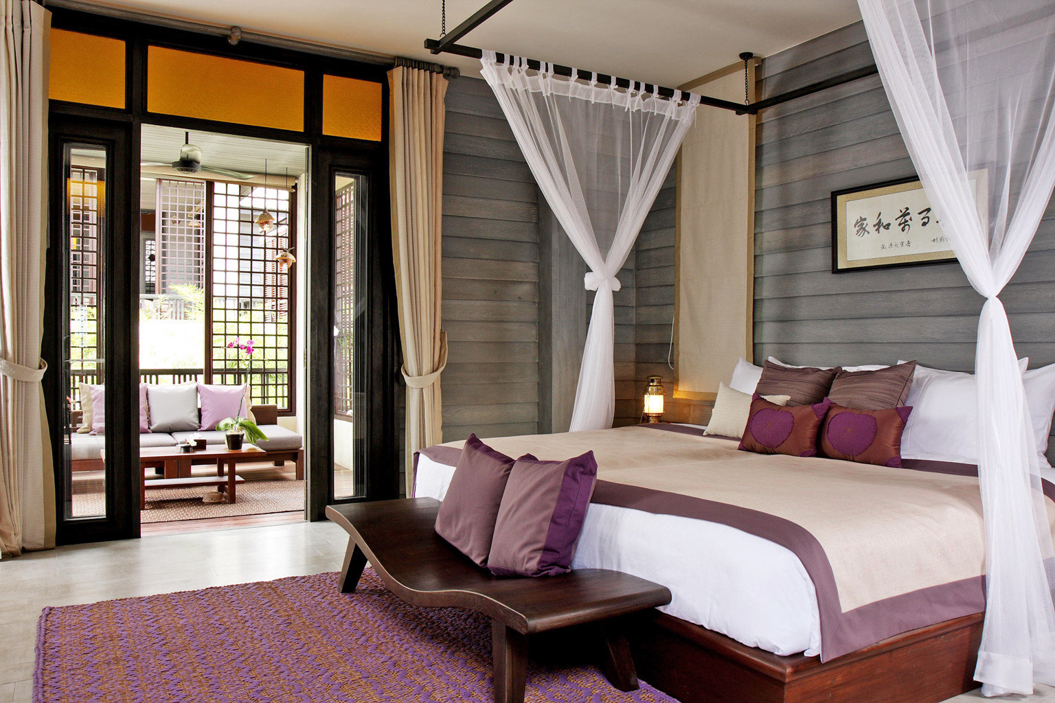 Bedroom Hotels Luxury Suite property home living room cottage Resort