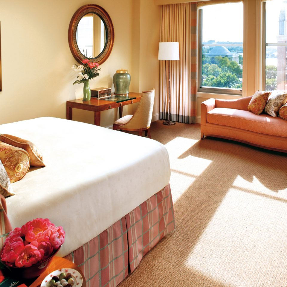 Bedroom Hotels Luxury Suite sofa property home cottage hardwood bed sheet living room