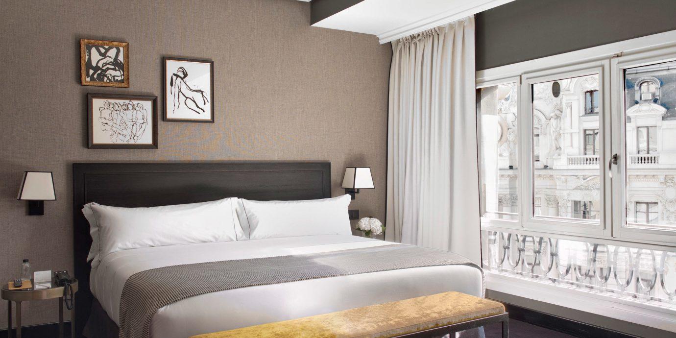 Hotels Madrid Spain Bedroom property home living room cottage Suite bed frame