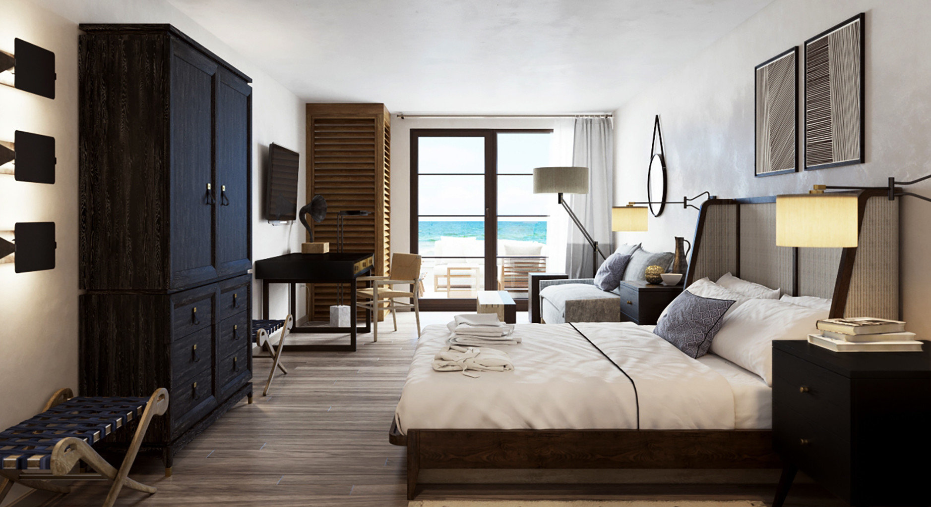 Bedroom Hotels Resort Trip Ideas property living room Suite condominium home cottage Villa