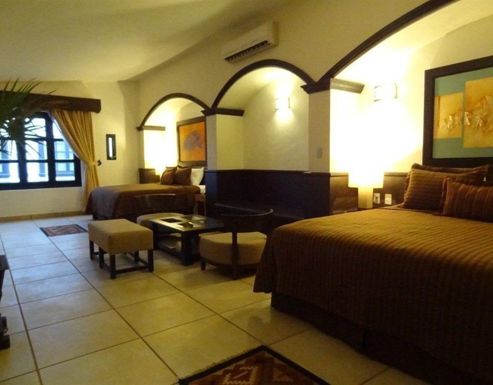 Bedroom Luxury Modern Suite property building Resort Villa condominium hacienda cottage living room Inn