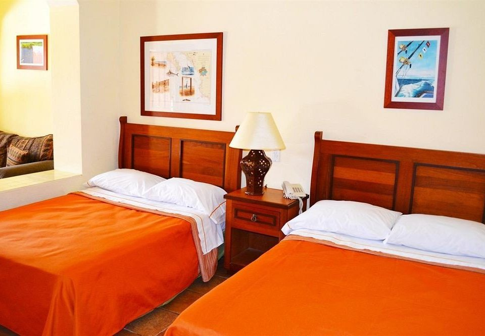 Bedroom property orange cottage Suite Inn night painting
