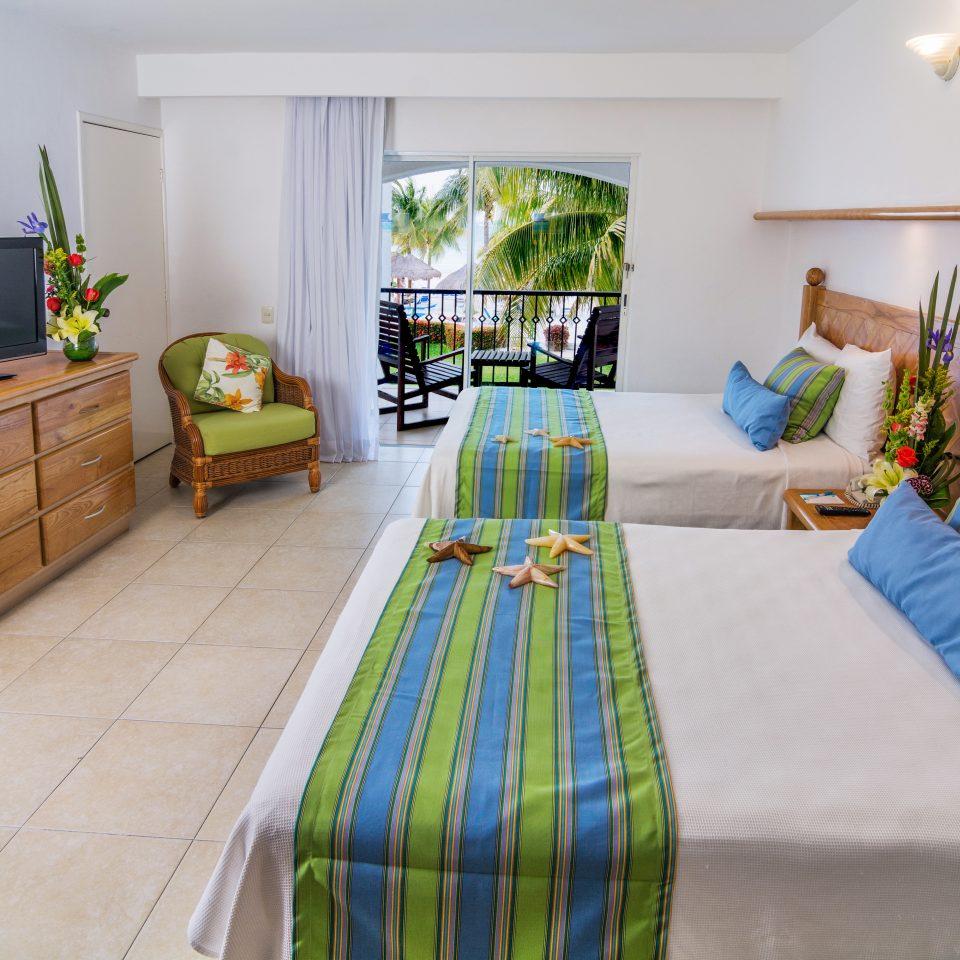 Bedroom Island property home hardwood cottage bed sheet living room