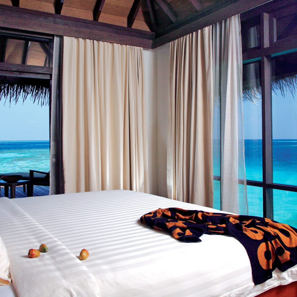 Bedroom Island Luxury Overwater Bungalow Romance Romantic property swimming pool Resort Suite cottage Villa overlooking