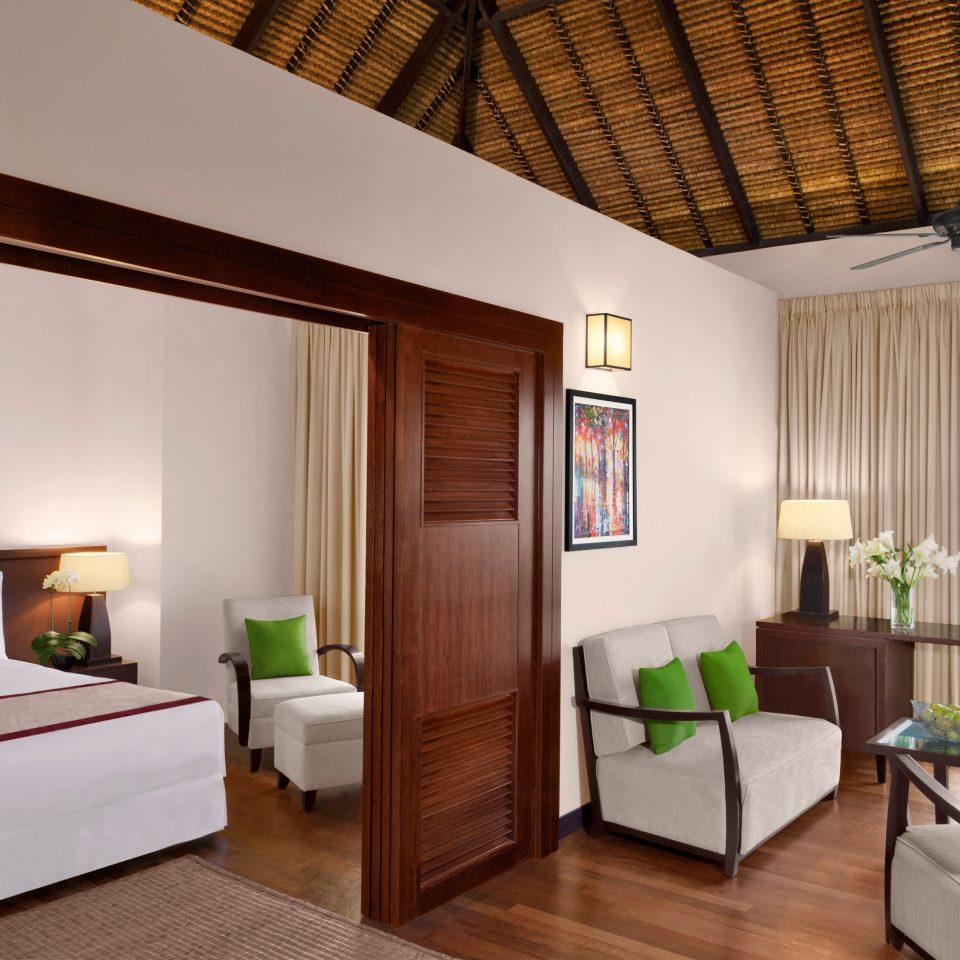 Bedroom Island Luxury Overwater Bungalow Suite property living room home hardwood cottage condominium Villa