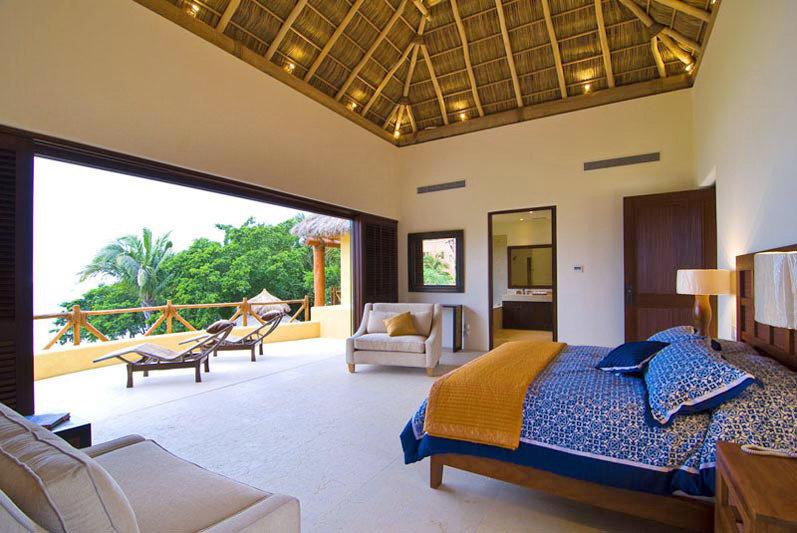 Bedroom Island Suite property Resort Villa cottage condominium home living room
