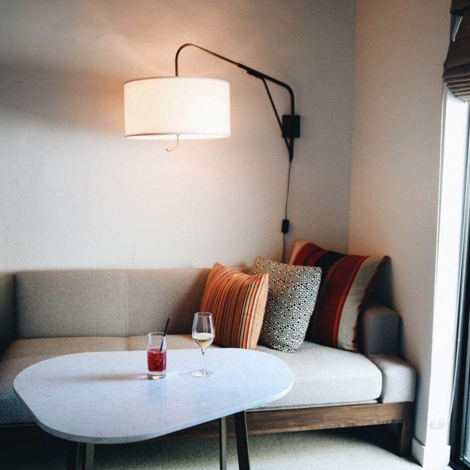 Jetsetter Guides white house property living room home lighting cottage Bedroom loft lamp