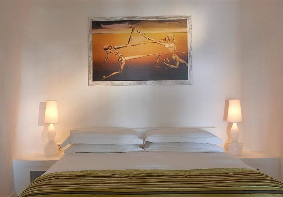 Bedroom scene lighting pillow lamp night