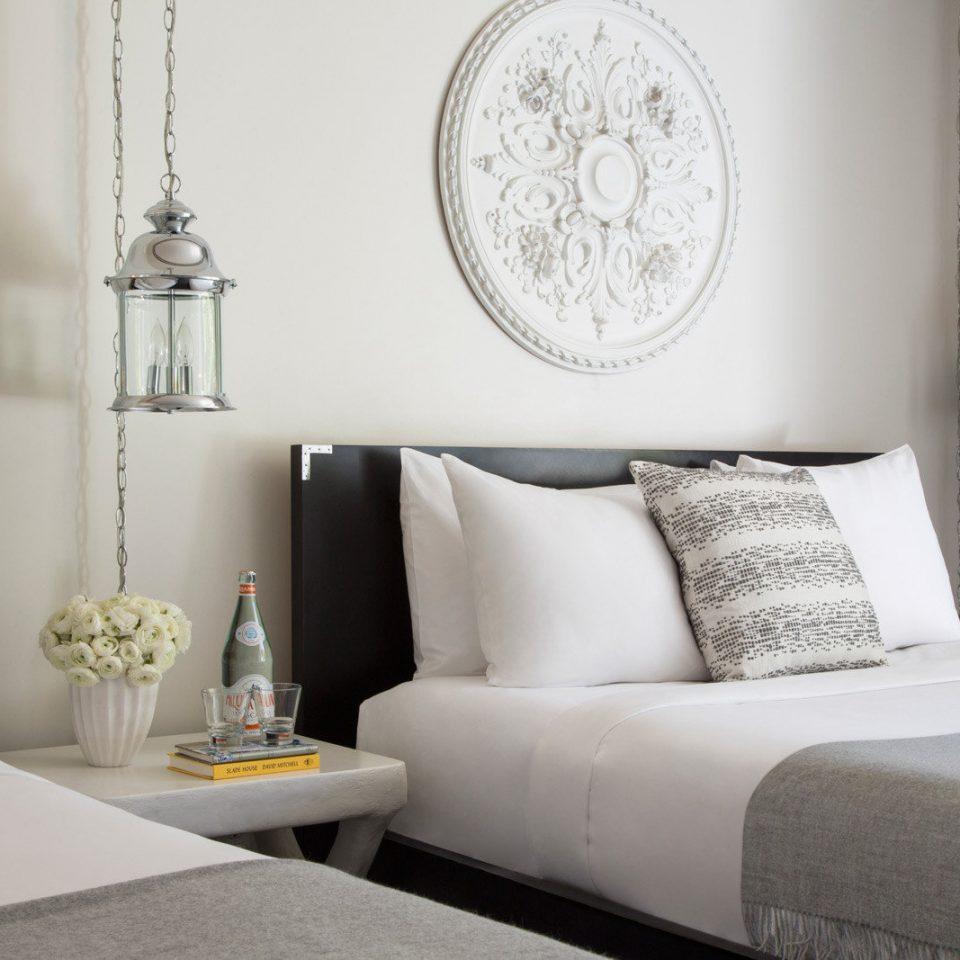 sofa white pillow Bedroom living room lamp