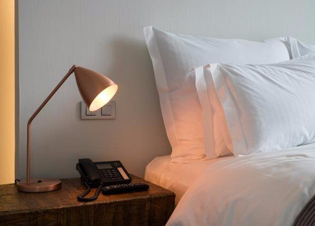 Bedroom product white pillow lamp night
