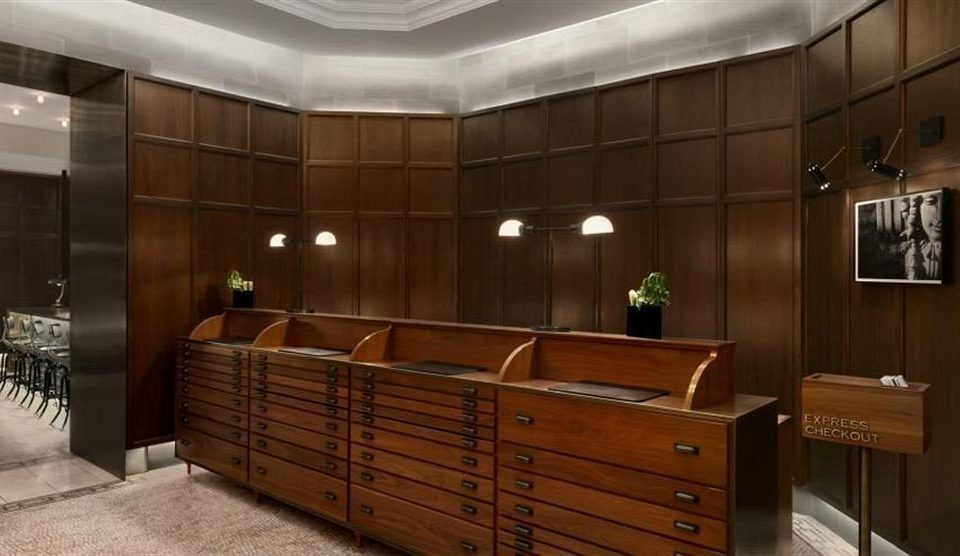 cabinetry Lobby wooden lighting office Bedroom