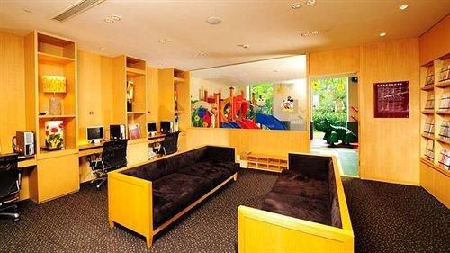 yellow property recreation room Lobby living room Bedroom