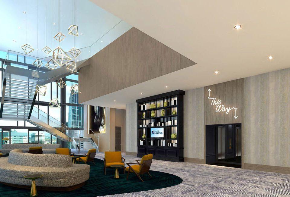 property living room home condominium daylighting Lobby Bedroom Modern