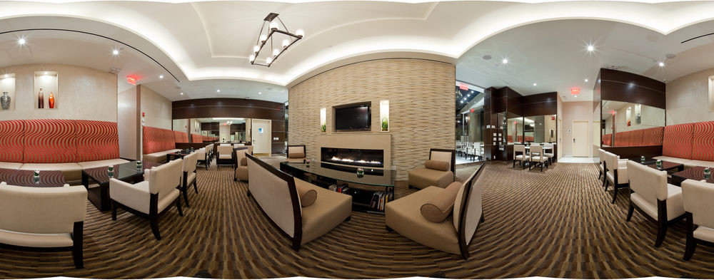 Lobby restaurant function hall conference hall living room Suite convention center Bedroom Modern