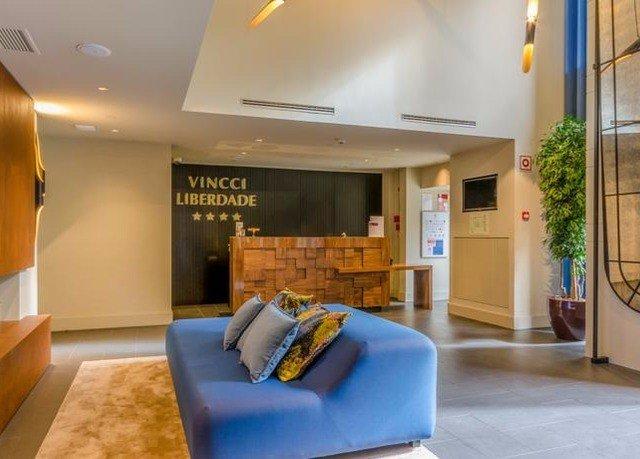 property condominium living room Suite Lobby waiting room blue Bedroom Modern flat
