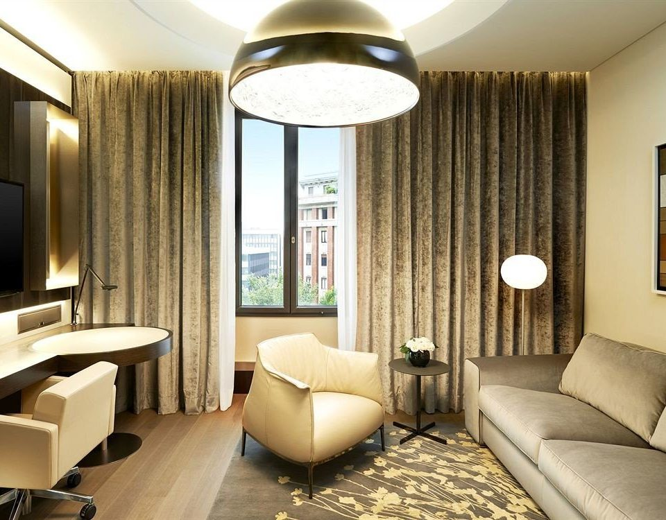 sofa property condominium Bedroom Suite living room curtain lamp Lobby flat Modern