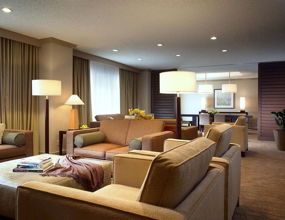 sofa property living room condominium Suite home Lobby flat Bedroom tan