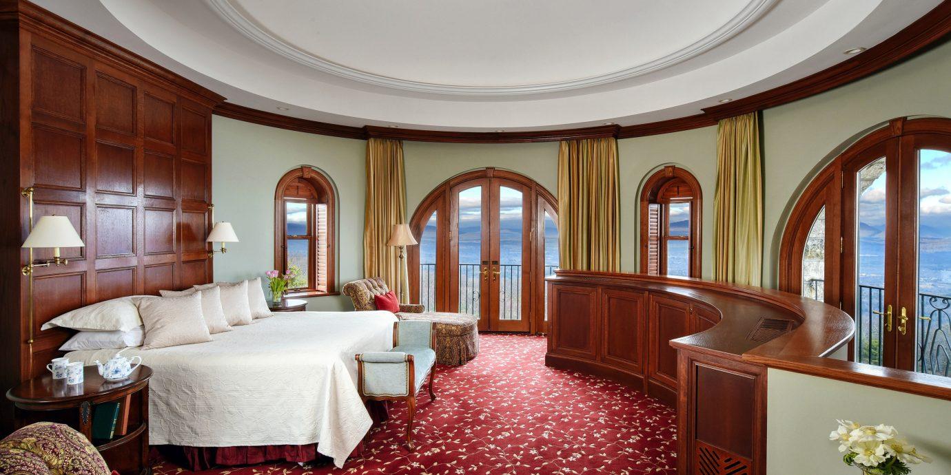 Suite Bedroom Lobby living room