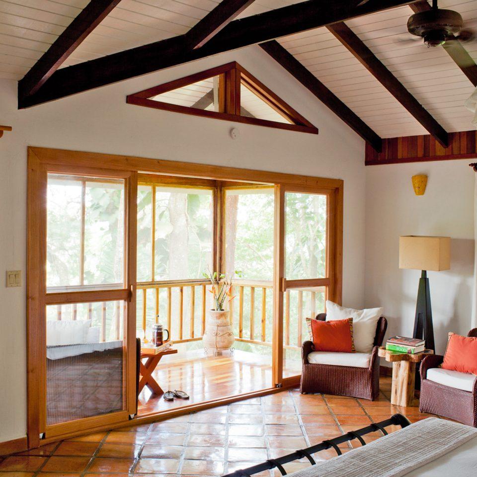 Bedroom Lodge Rustic property living room house home farmhouse cottage hardwood Villa