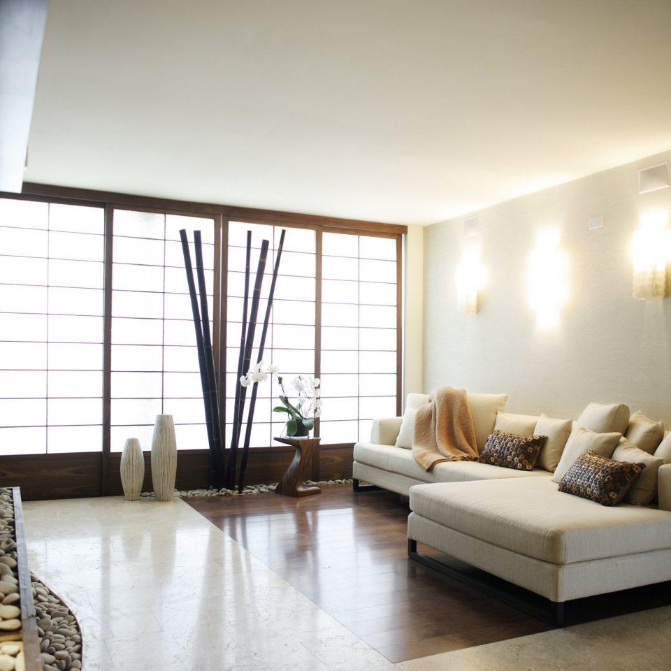 Lounge Scenic views property living room condominium home hardwood loft Bedroom