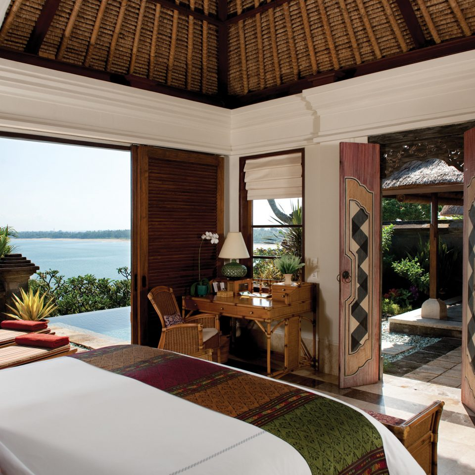 Bedroom Luxury Modern Suite Tropical property home living room house Villa Resort cottage mansion farmhouse condominium overlooking