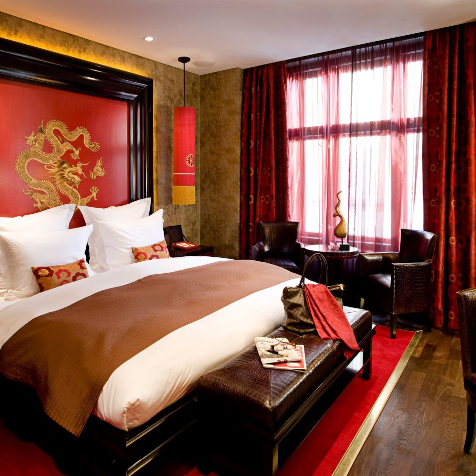 Bedroom Luxury Modern Suite property red Resort