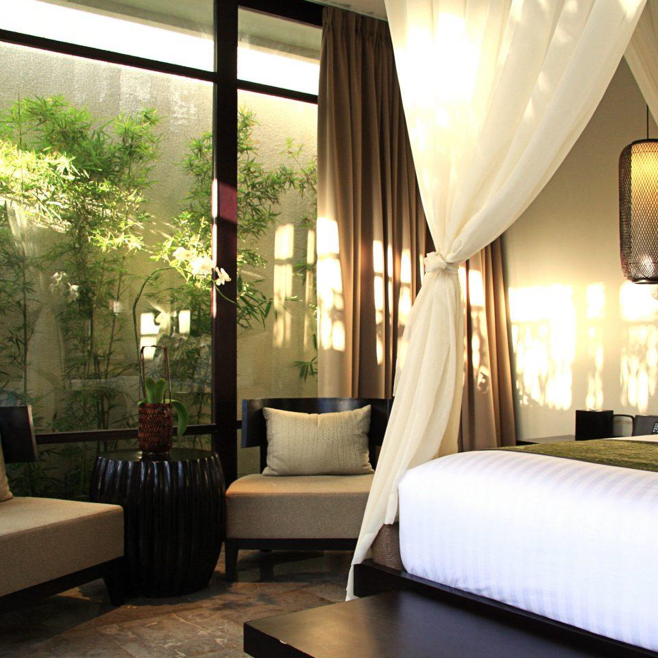 Bedroom Luxury Modern Suite property living room Resort white condominium Villa nice cottage