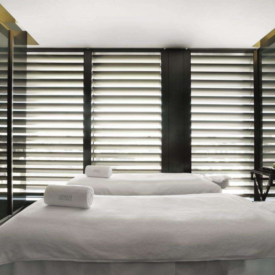 Luxury Modern Spa building window blind Bedroom window treatment living room textile curtain