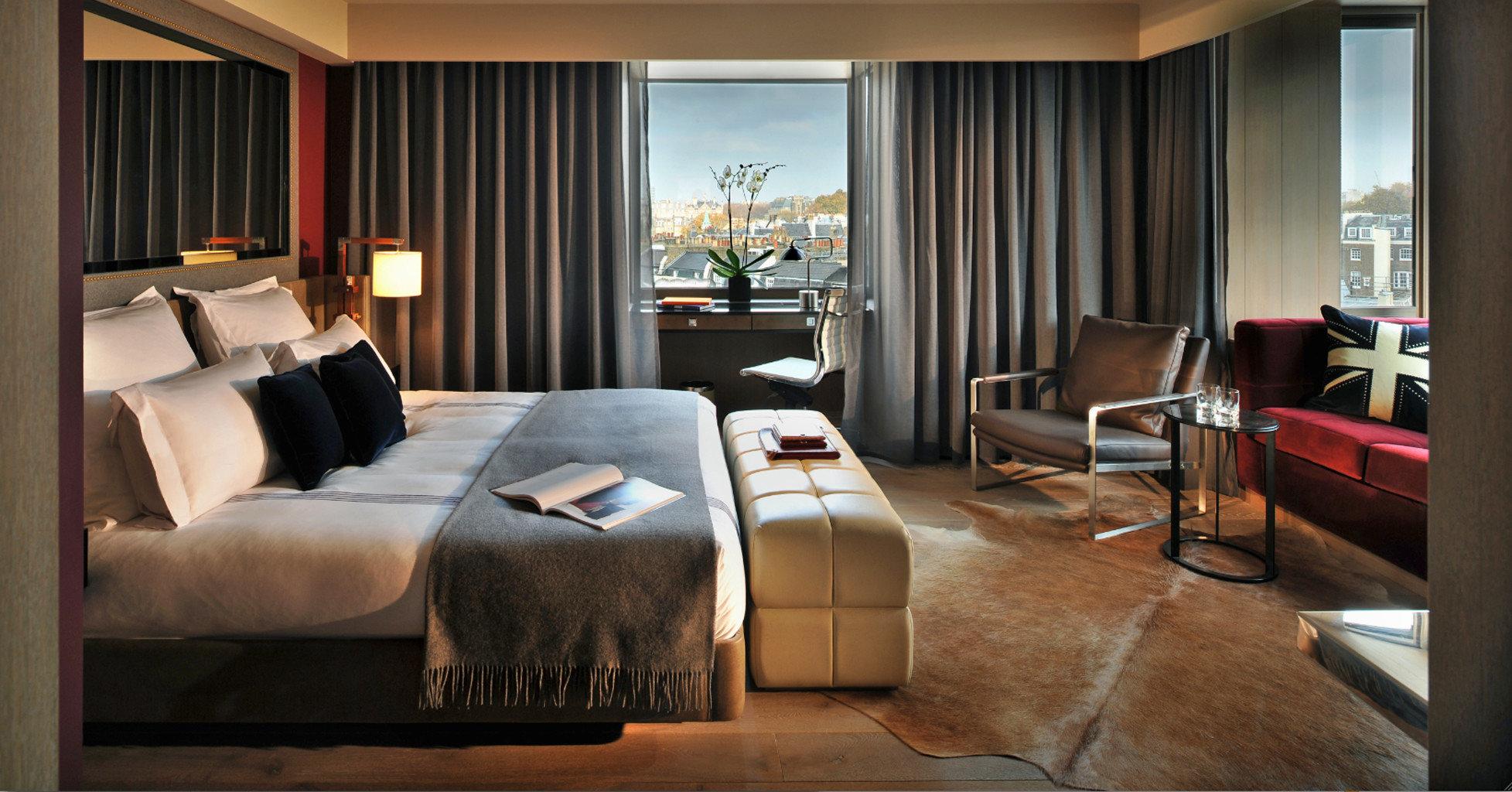 Bedroom Luxury Modern sofa property Suite living room home nice cottage condominium