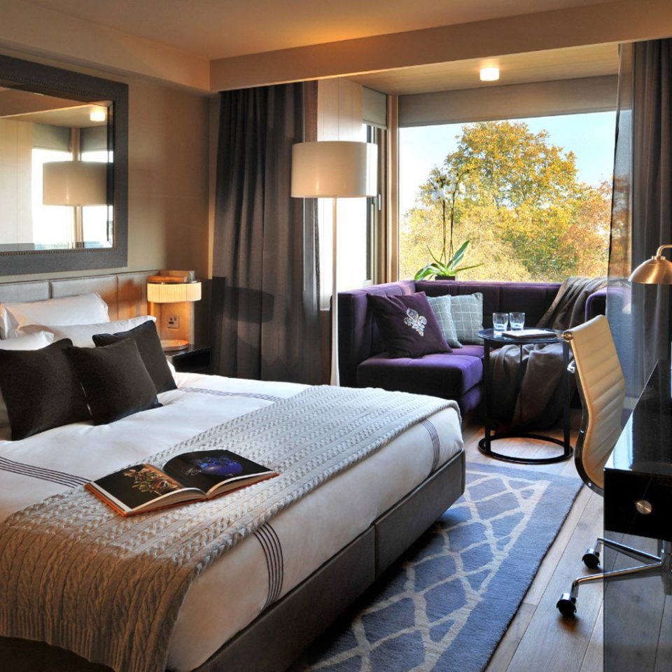 Bedroom Luxury Modern property Suite home living room cottage condominium
