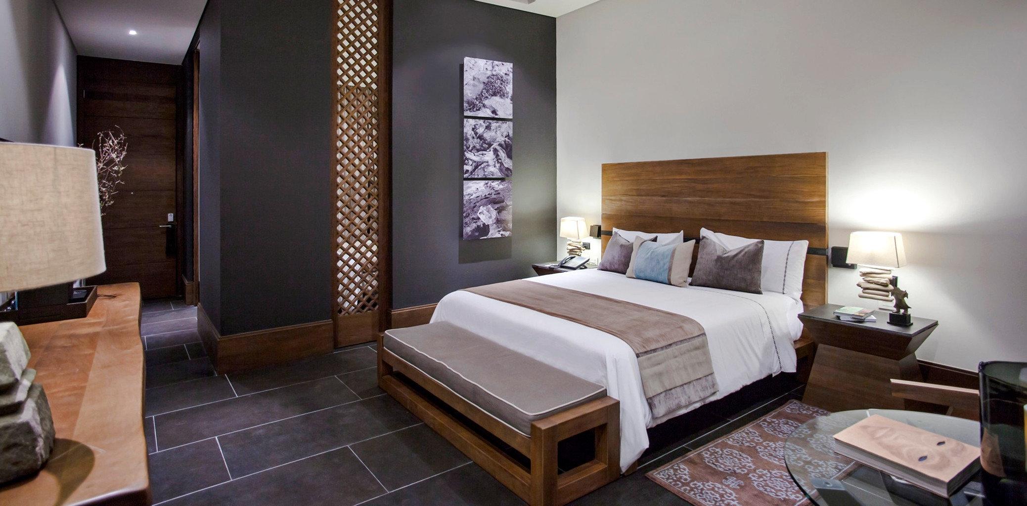 Bedroom Luxury Modern property Suite hardwood cottage living room Villa