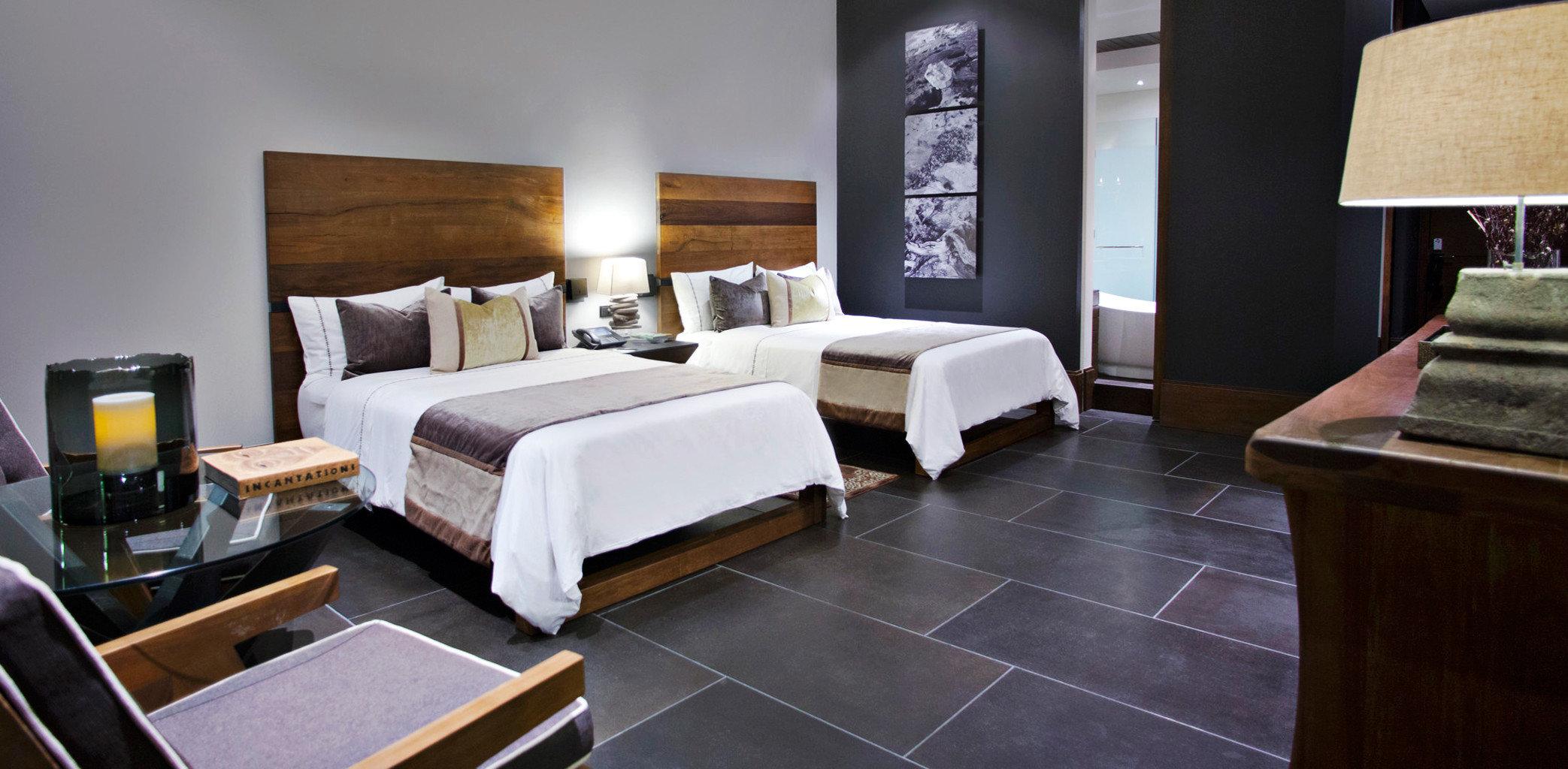 Bedroom Luxury Modern property Suite living room hardwood