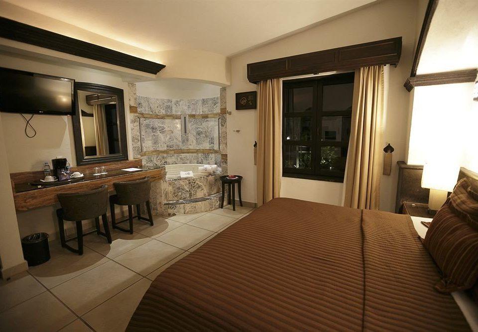 Bedroom Luxury Modern Suite property home condominium cottage living room Villa