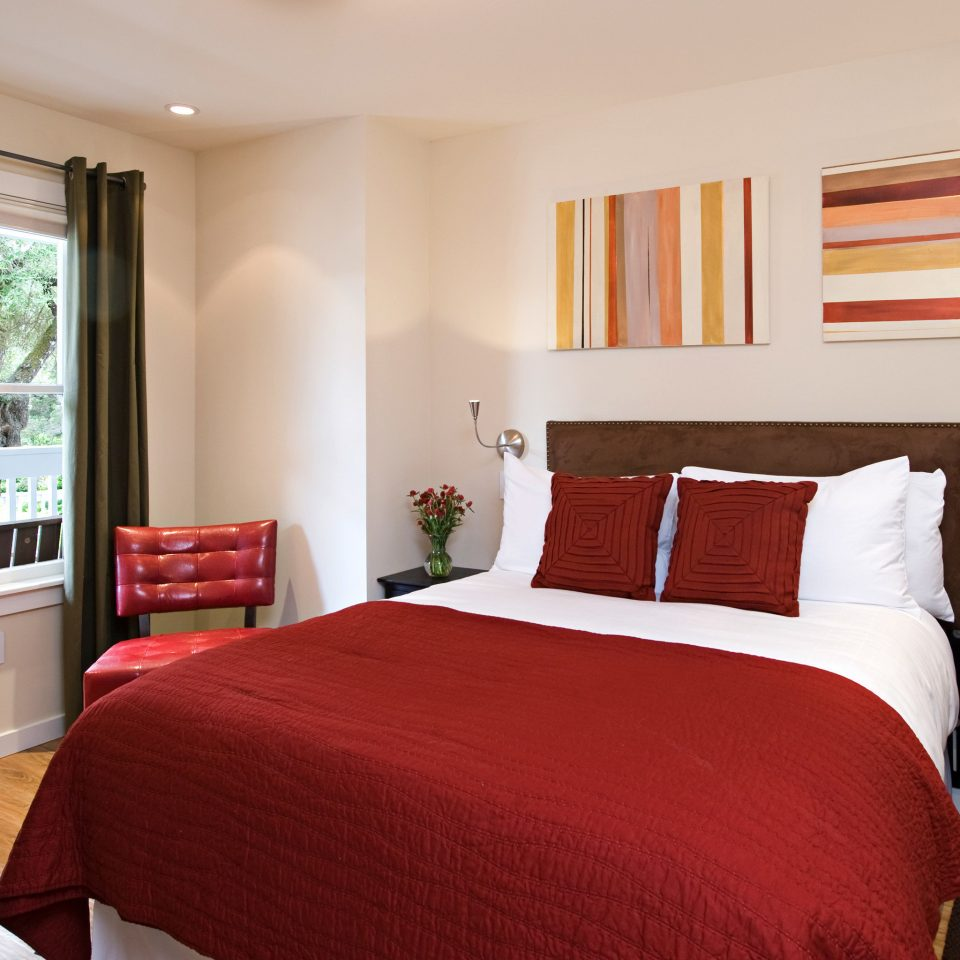 Bedroom Luxury Modern Suite sofa red property cottage home