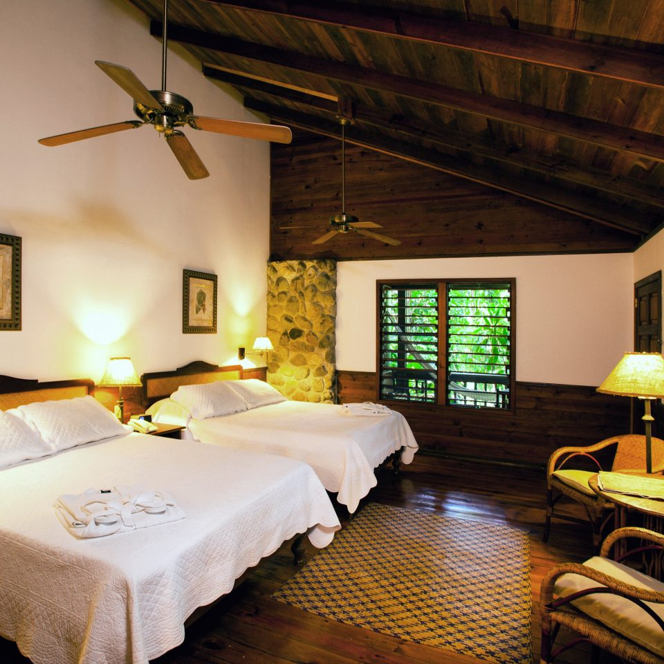 Bedroom Luxury Romantic Suite Tropical property cottage Resort Villa living room