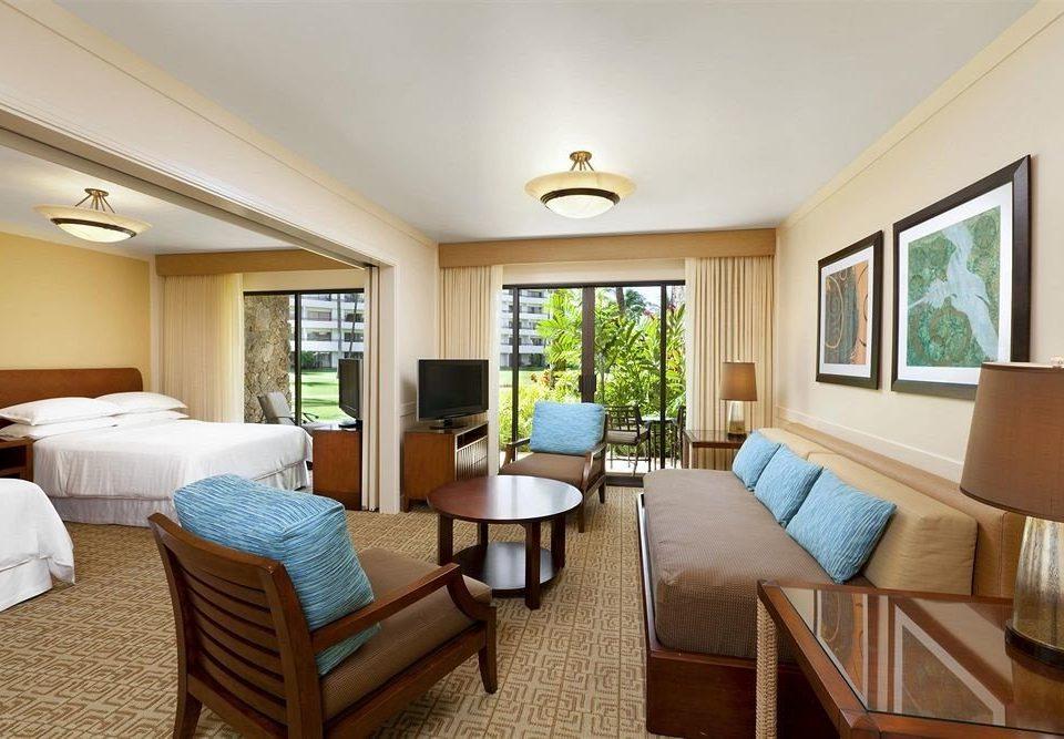Bedroom Luxury Scenic views Suite property living room condominium home Resort cottage hardwood Villa