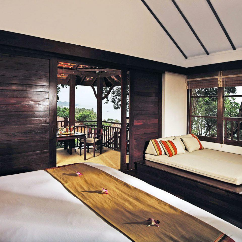 Bedroom Luxury Scenic views Suite Tropical property home recreation room living room Resort