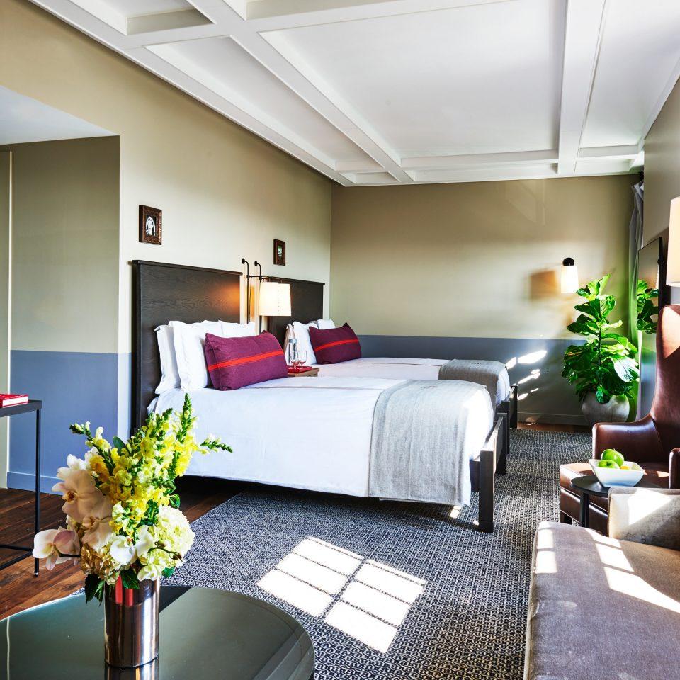 Bedroom Luxury property living room home Suite condominium cottage Villa
