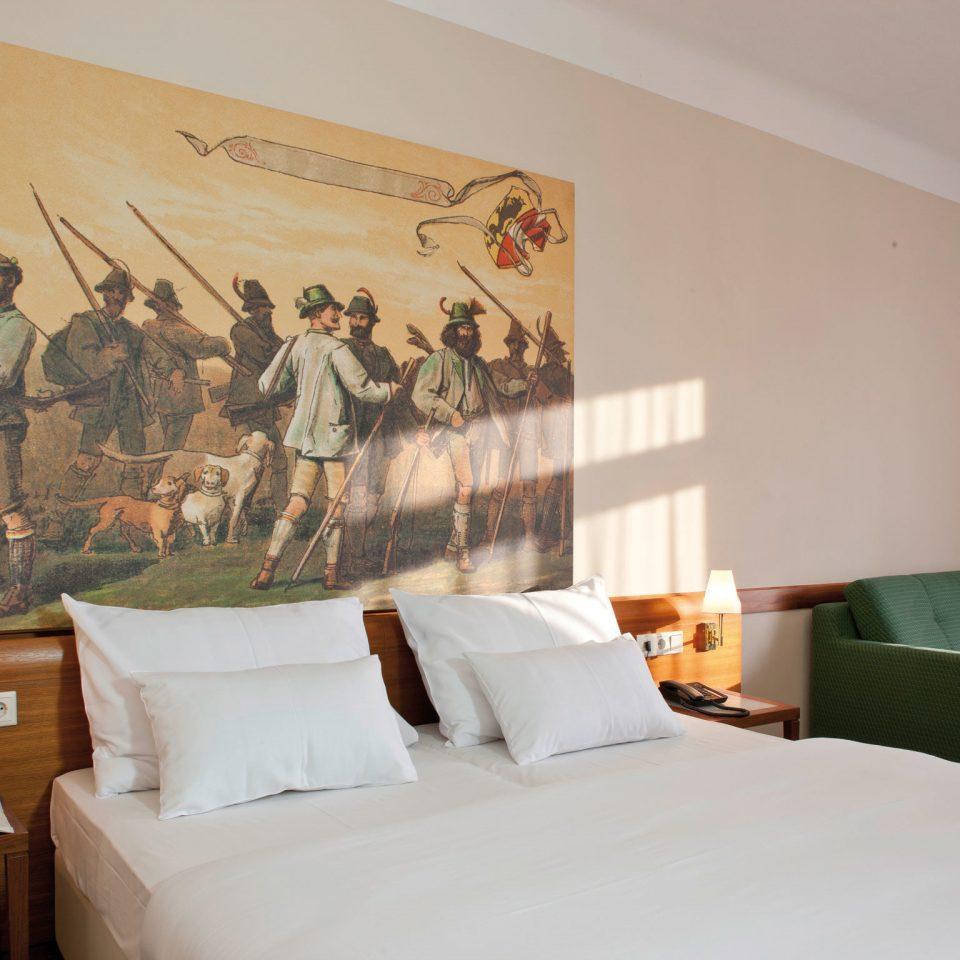 Bedroom Modern property pillow modern art mural living room bedclothes