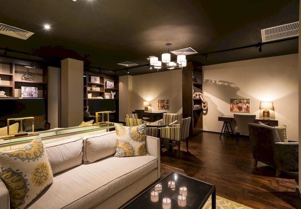 sofa property living room home condominium loft recreation room Modern Bedroom flat