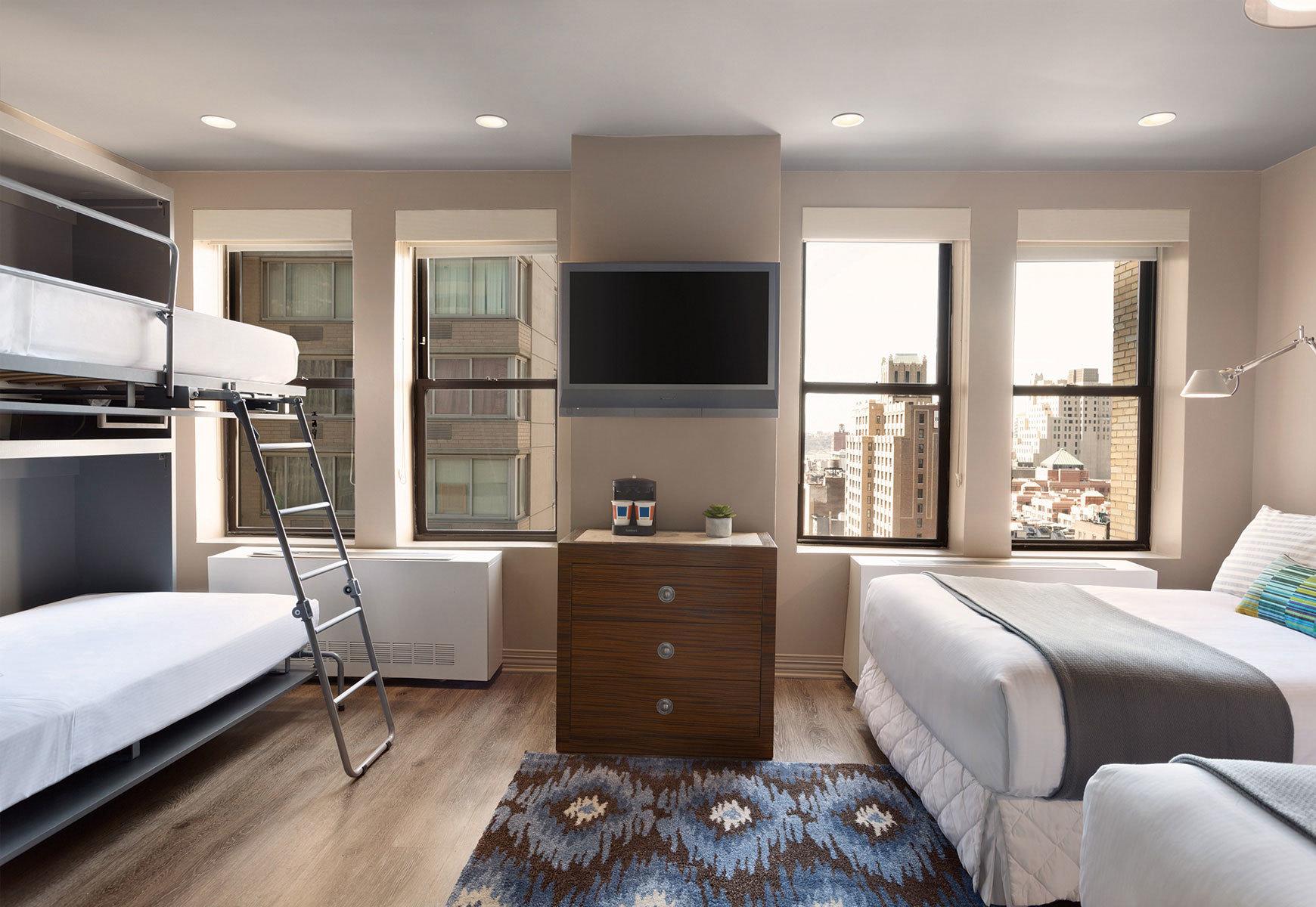 property living room Bedroom home hardwood condominium Modern flat