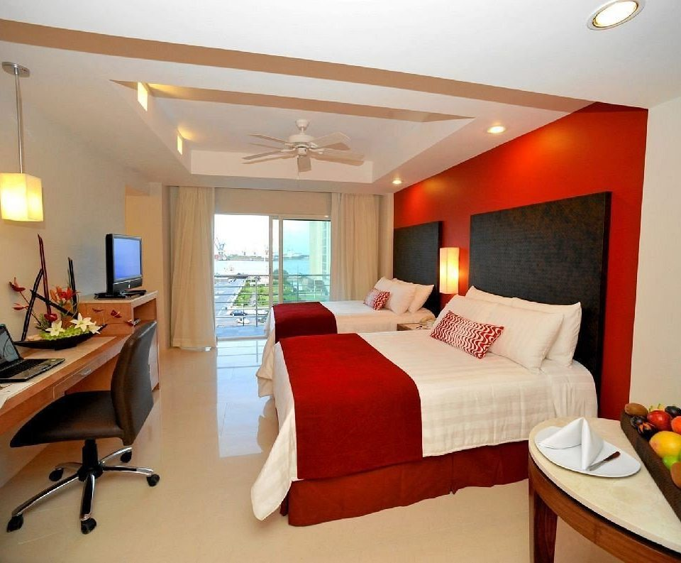 Bedroom Modern Ocean Romantic Scenic views Suite property cottage Villa living room