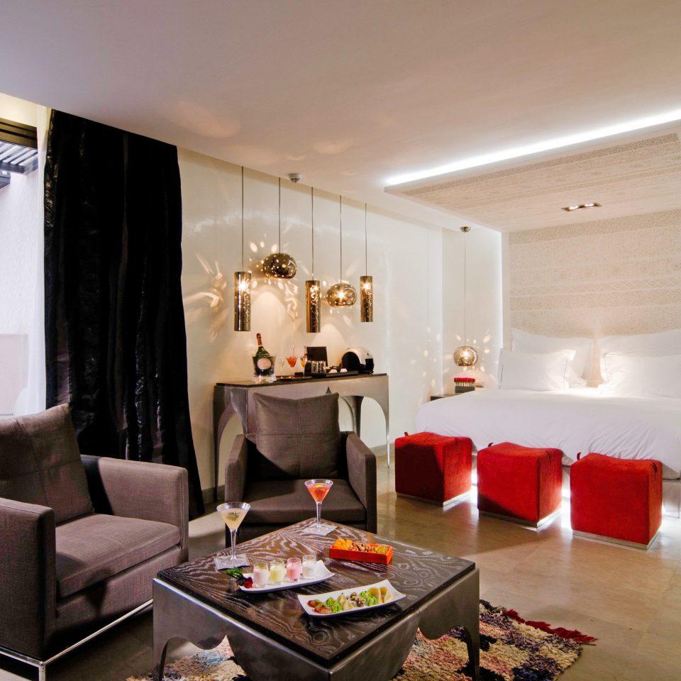 Bedroom Modern Patio Resort property living room home Suite