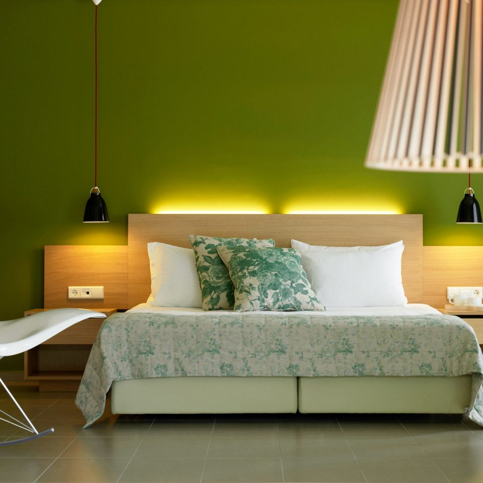 Bedroom Modern Resort green living room lighting bed frame lamp